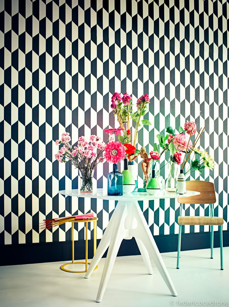 geometric black and white wallpaper 19 best