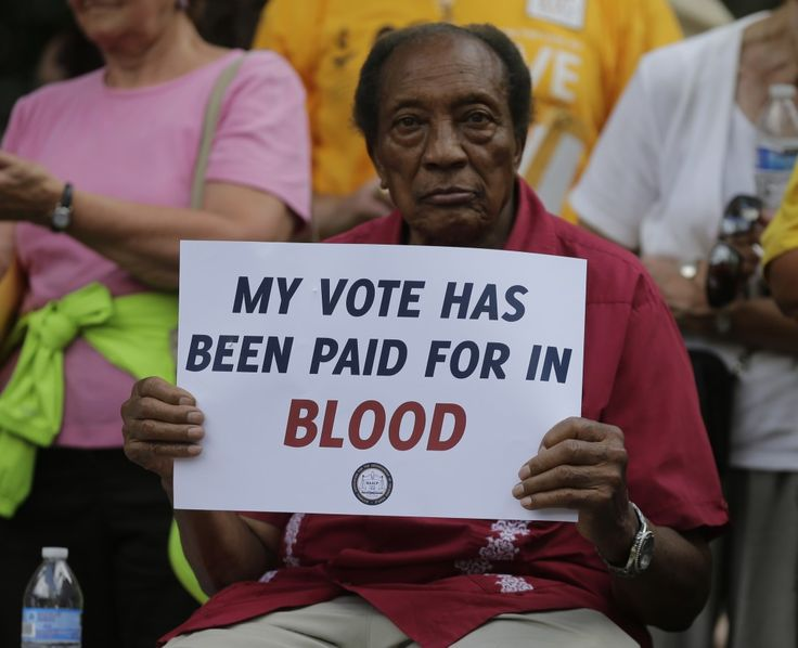 4-26-16 North Carolina's 'Monster Voter Suppression' Law Upheld, Sowing Chaos For November Election: The decision could sway November's election results.