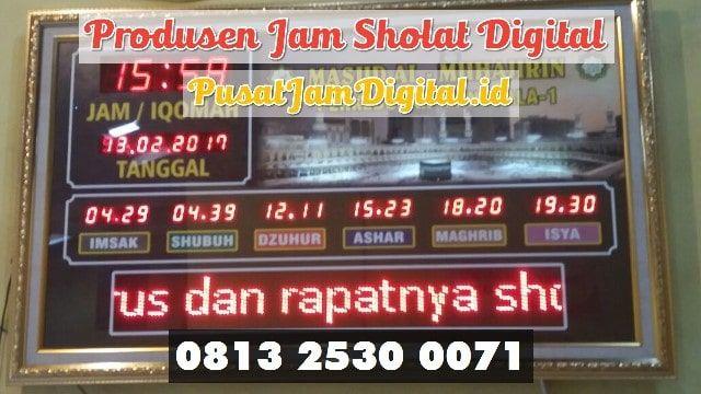 Jam Iqomah Digital Di Tulang Bawang Wa 0813 2530 0071 Pusat
