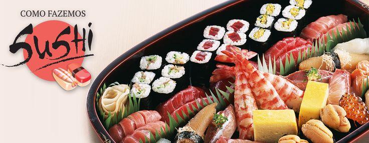 CLIQUE E ACESSE O SITE! FAÇA SUSHI , FÁCIL EM VIDEO AULAS #sushi #comida