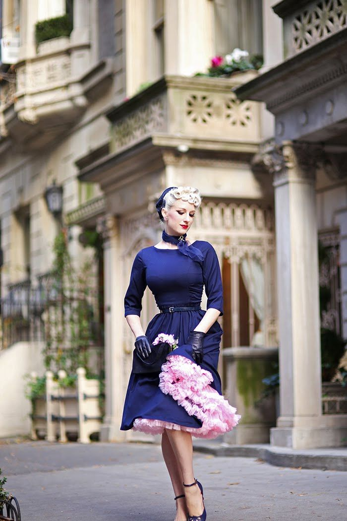 Poodles, petticoats & pincurls! Today's look is 1950's femininity, inspired by Betty Grable as Loco Dempsey in How to Marry a Millionair...