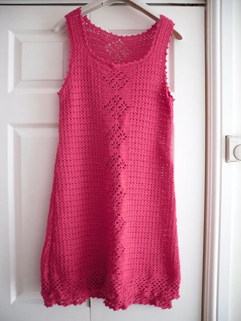Rosetta Lacy Dress FREE Pattern from Pierrot Yarn/Ravelry.com