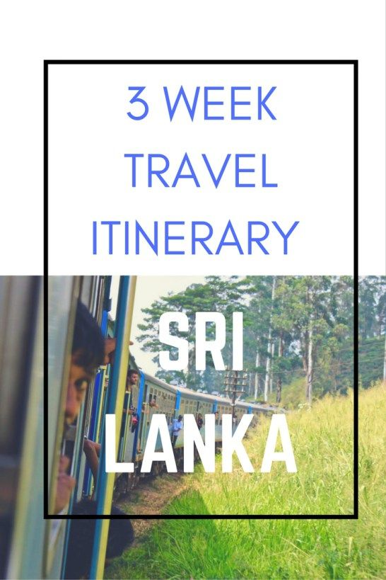 Sri Lanka is an amazing country and with so much to see you want to make sure you make the most of it!