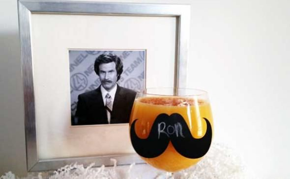 The Ron Burgundy Scotchsicle