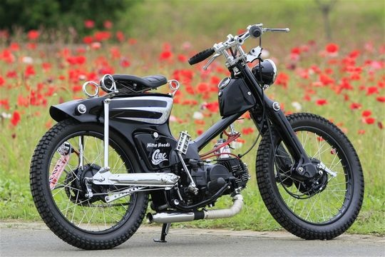 """Dragon Fly""  Custom super cub by Cone Custom Cycle, Japan."