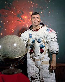 Fred Haise. Astronaut. From Biloxi, MS.