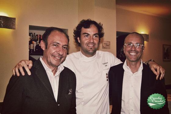 Antonio, Fabrizio ed io :-)