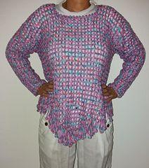 Ravelry: cmilani's Stripy top with fringe
