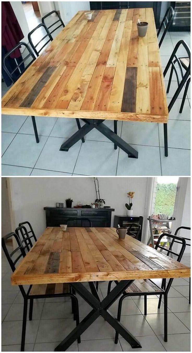 best 25 unique dining tables ideas on pinterest wood. Black Bedroom Furniture Sets. Home Design Ideas