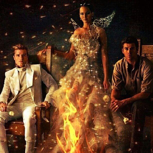 Katniss Catching Fire Dress Chariot