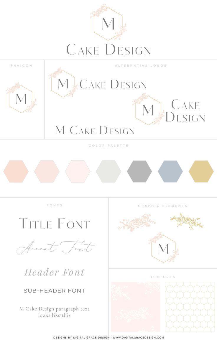 Branding Design Our Client M Cake Design I Digital Grace Design I Brand Website Design For Phot Portfolio Website Design Website Branding Website Design