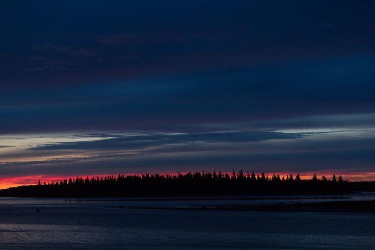 Butler Island before sunrise 2017 September 3rd.