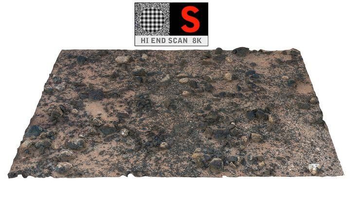 3d desert scanned 8k