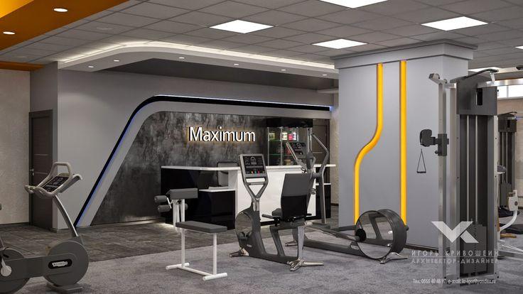 Дизайн интерьера Игорь Кривошеин: Над чем сейчас работаю -Проект тренажерного зала и...