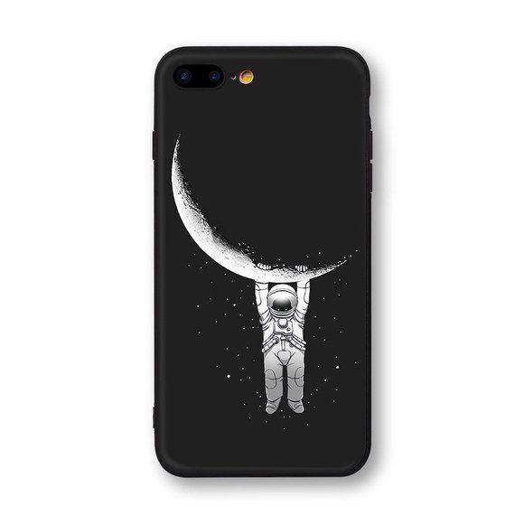 half off cf936 986ae Astronaut Iphone Case Moon Phone Case Moon Iphone Case | Etsy ...