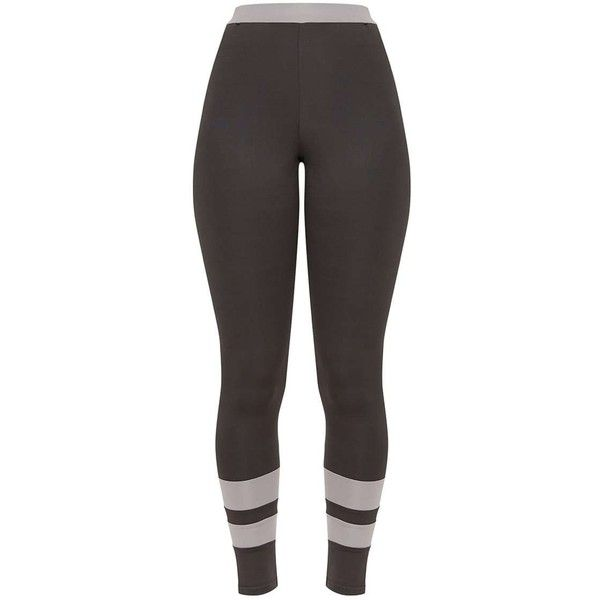 Contrast Charcoal Leggings ($21) ❤ liked on Polyvore featuring pants, leggings, charcoal grey pants, charcoal gray pants, charcoal trousers, charcoal pants and legging pants