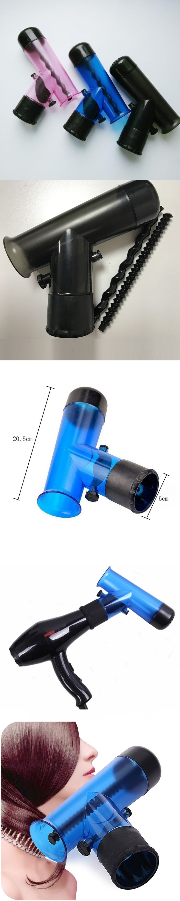 Professional Hair Dryer Diffuser Magic Wind Spin Curl Hair Roller Curler Hair Salon Styling Tools Make Hair Curly Without Damage