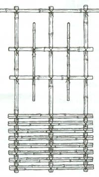 Japanese Garden Fence Design 1000 images about trellis fence designs on pinterest wooden within japanese garden fence How To Tie Japanese Knots To Make A Bamboo Fence Or Trellis