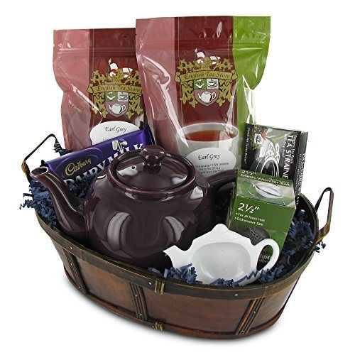 38 best tea gift basket images on pinterest tea favors tea earl grey tea gift basket httpmygourmetgiftsearl solutioingenieria Image collections