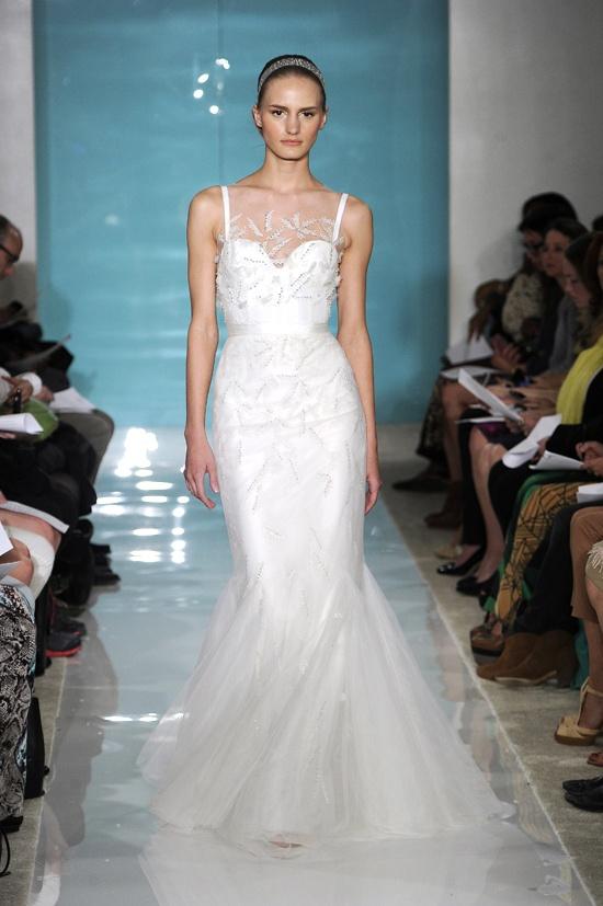 Reem Acra Spring 2013 #bridal #dressFashion Weeks, Wedding Dressses, Bridal Collection, Reem Acra, Bridal Dresses, Bridal Fashion, Acra Bridal, Spring 2013, Acra Spring