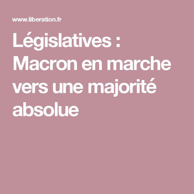 Législatives: Macron en marche vers une majorité absolue