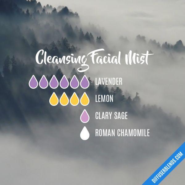 Cleansing Facial Mist - Essential Oil Diffuser Blend