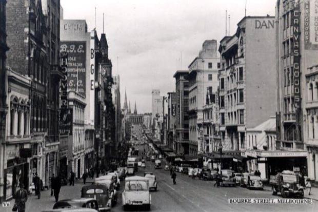 Melbourne, Burke Street
