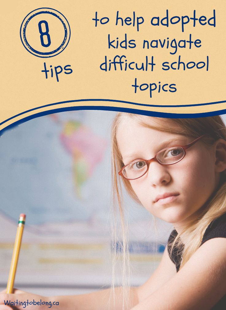 8 tips to help adopted children navigate difficult school