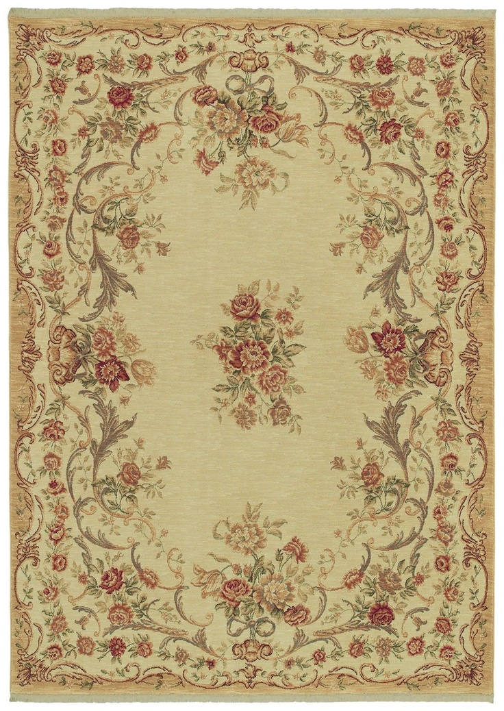 Pinned From RugLots   Shaw // Stonegate Queen Victoria Garden Beige Floral Shaw  Rug