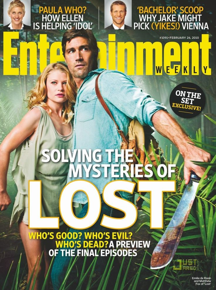 entertainment weekly | Tags: emilie de ravin , entertainment weekly , lost , matthew fox