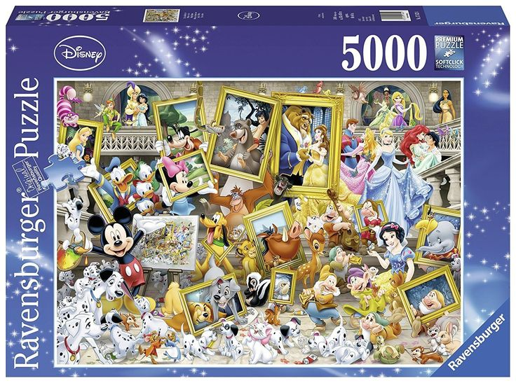 Ravensburger Disney Multicha, 5000pc Jigsaw puzzle