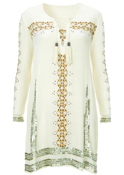 Folk Smock Dress, $170: Kate Moss for Topshop | Boca Raton Magazine