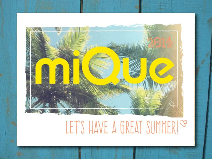 Let's have a great summer too ... (summerstyle by www.mique.nl)