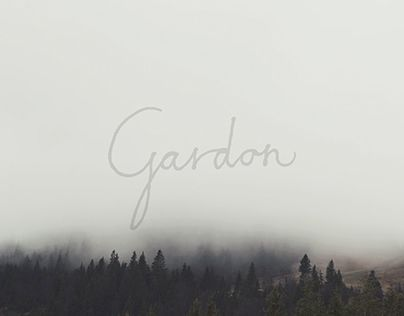 "Check out new work on my @Behance portfolio: ""Gardon"" http://be.net/gallery/33824622/Gardon"
