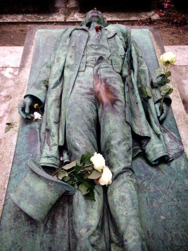 Victor Noir, Pere -Lachaise Cemetery