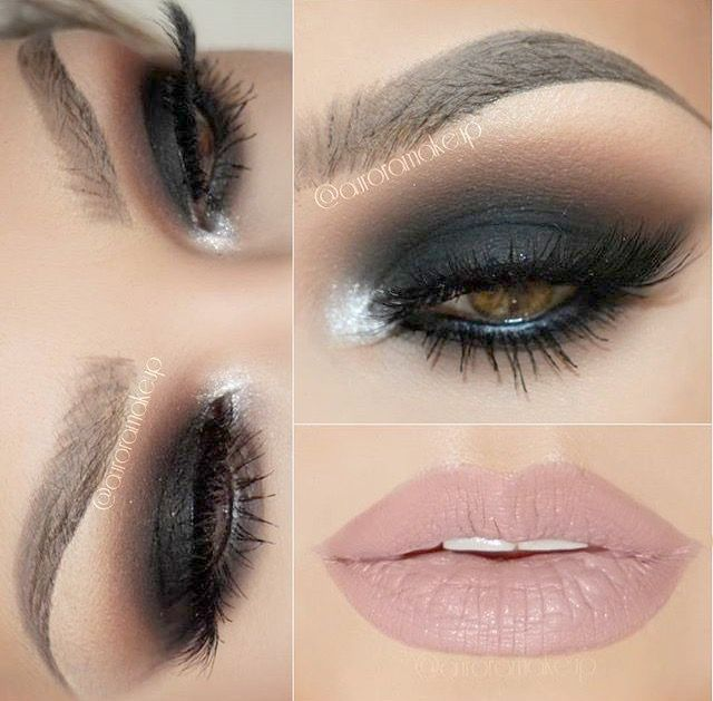 Smokey Eye Makeup Blue Eyes Blonde Hair Smokey Eye Tutorial