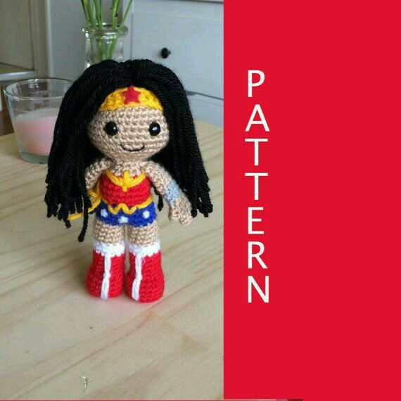 Wonder Woman(Amigurumi)