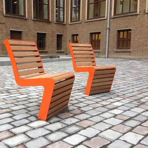 FalcoLinea stoel voor Amstel Campus, Amsterdam.