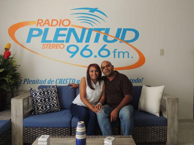 Salmista Loandy Quezada de República Dominicana  y su esposo