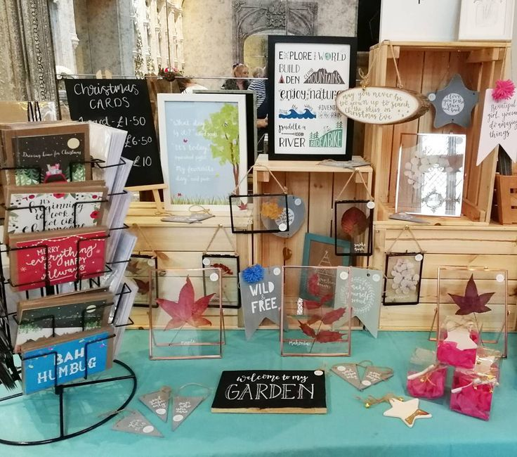 A lovely venue for today's fair in Leamington Spa. Feeling a little better about my set up today. It's been a great trial run for @ideasbirmingham Etsy Made Local on Friday!