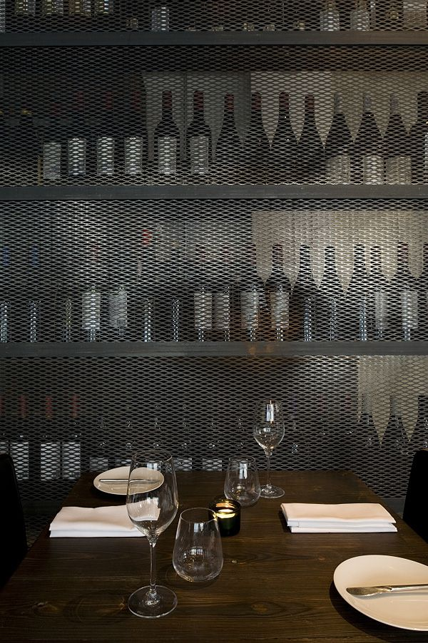 industrial restaurant and bar Dabbous in London