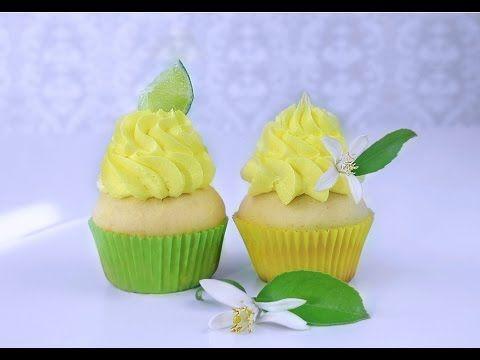 Капкейки Лимонные - YouTube