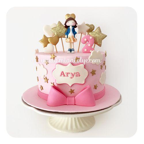 Stary birthday cake