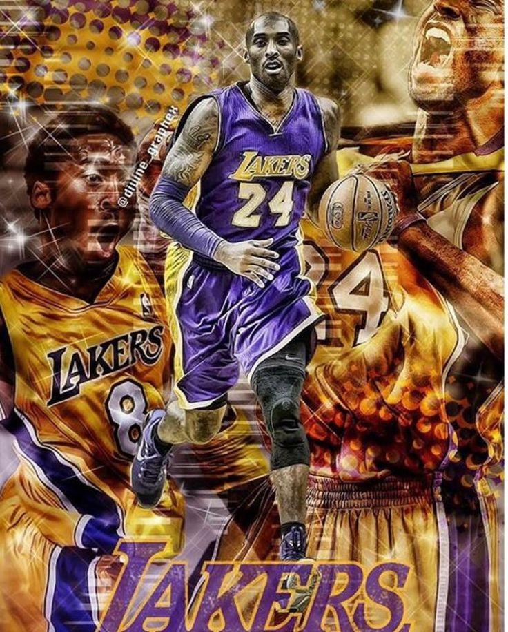 Kobe Bryant NBA Los Angeles Lakers Pinterest Kobe
