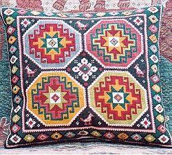 Caucasus Bird Kelim Tapestry Needlepoint KLBP