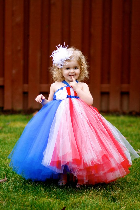 Old Glory Tutu Dress for the 4th of July.  IS SHE TO DIE FOR...OR WHAT??? ~ Little Dreamers Inc on Etsy