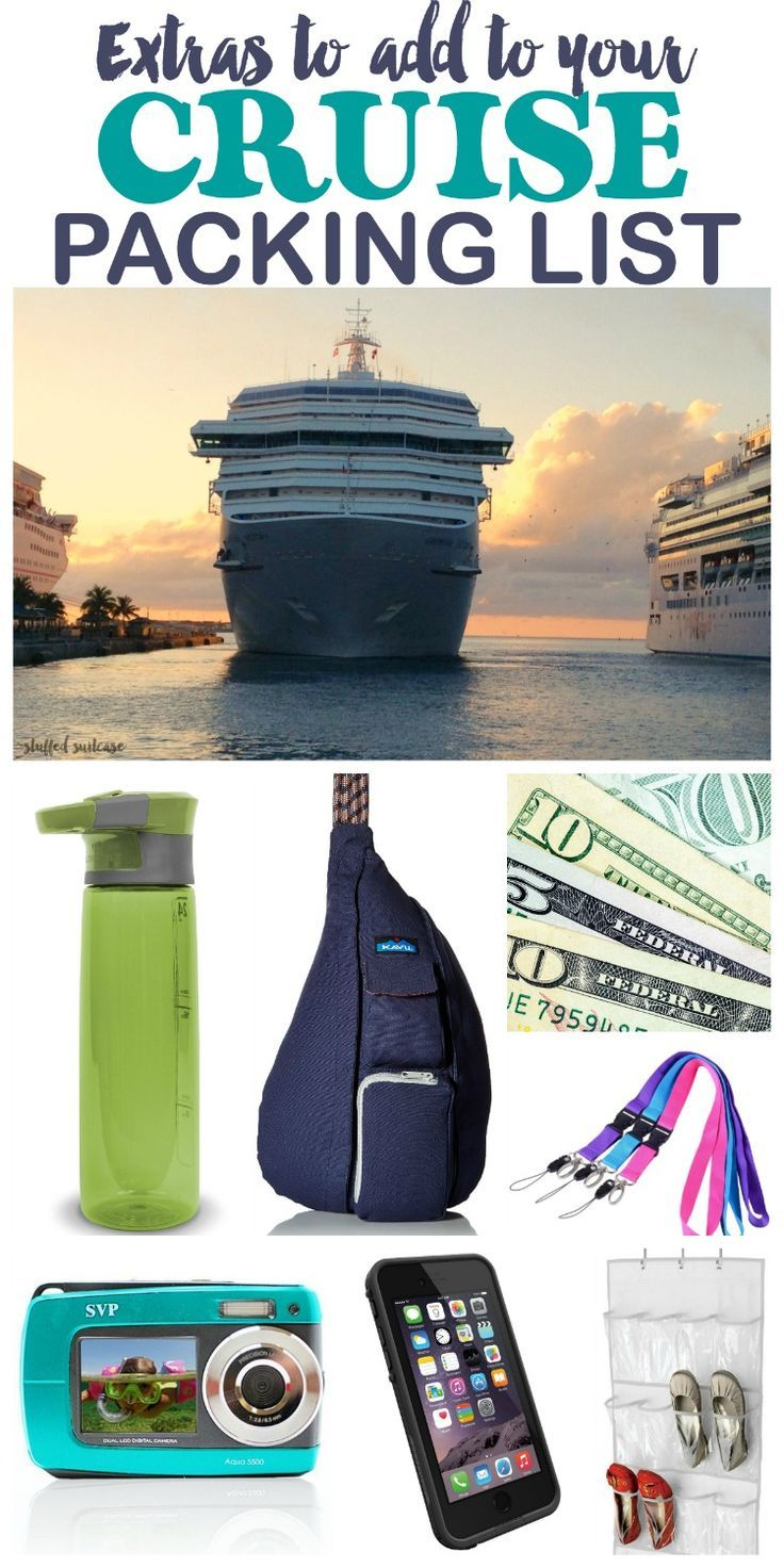 Heading On A Cruise? Don't Start To Pack Until You See These Extras