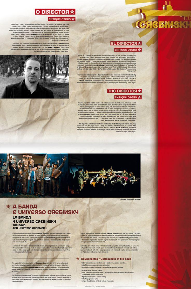Revista Tintimám 01, Miranda estudio Vigo, Diseño de revistas, diseño editorial, diseño de catálogos, folletos, Crebinsky