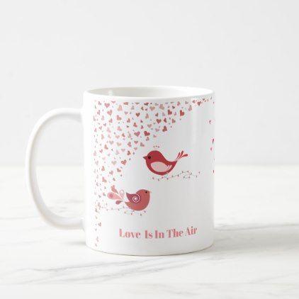 Valentine Love Birds Coffee Mug | Zazzle.com