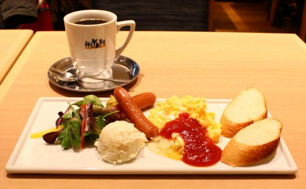 朝食の理想形のひとつ